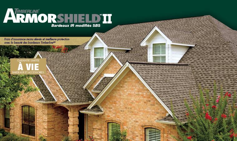 GAF | Bardeaux de toiture Timberline ArmorShield II